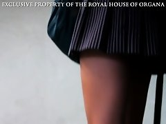 long close up view of schoolgirl legs on Watchteencam.com