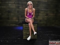 After hours sex party secretary slave Halle Von is in town on vacation on Watchteencam.com