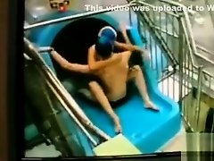 Two swimmers having some sexy time on Watchteencam.com