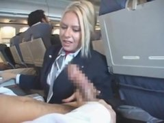 Helpfull Stewardess on Watchteencam.com