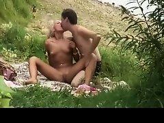 Horny couple caught having sex on Watchteencam.com