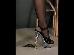 Naked high heels crawdad crush - Kristina on Watchteencam.com