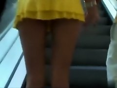 Sensational view of a hot girl's upskirt on Watchteencam.com