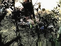Couple caught fucking in the woods on Watchteencam.com