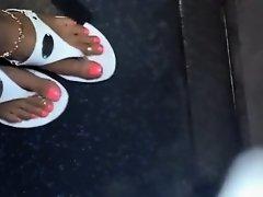 Indian feet on Watchteencam.com