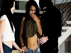 Rough violent gangbang crying first time Sometimes it takes a stranger on Watchteencam.com