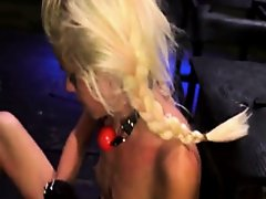 Big black bondage gang bang Halle Von is in town on vacation with her on Watchteencam.com