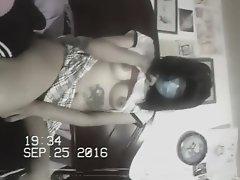 Slutty School Girl on Watchteencam.com