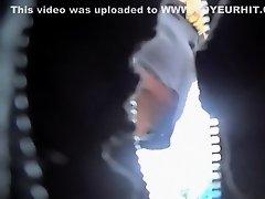 Pussy slip of dancing rave girl on Watchteencam.com