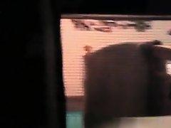 College Girl Filmed Through Window on Watchteencam.com