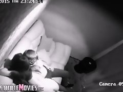 Strippers Escorts Security camera in private room on Watchteencam.com